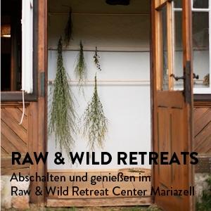 Raw & Wild Retreat Center Button