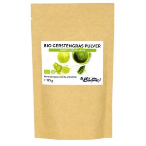 Gerstengras Pulver Bio & Roh
