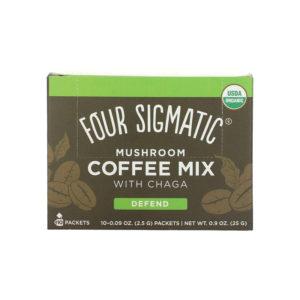 Four Sigmatic Mushroom Coffee Mix Chaga 10er Box