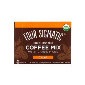 Four Sigmatic Mushroom Coffee Mix Lion´s Mane 10er Box