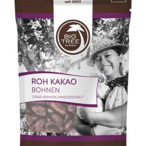 Geschälte Kakaobohnen Bio Roh