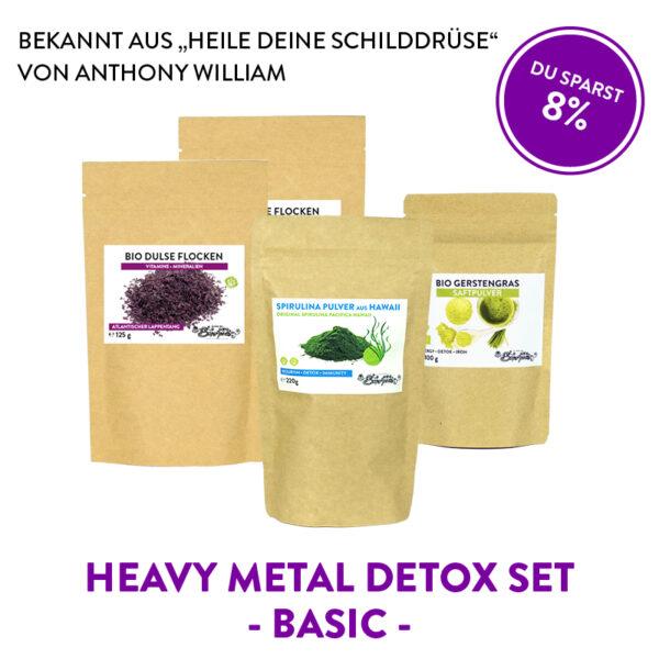 Heavy Metal Detox Set Basic