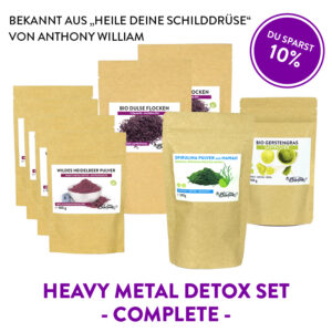 Heavy Metal Detox Set Complete