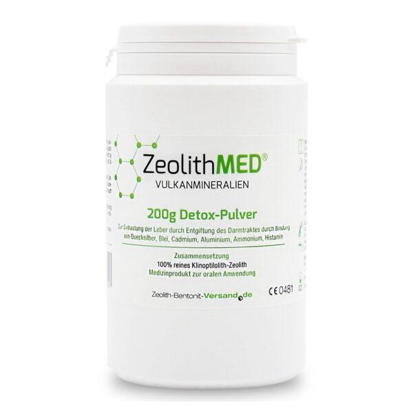 Zeolith MED Detox-Pulver 200g