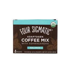 Four Sigmatic Adaptogen Coffee Mix Ashwaganda 10er Box